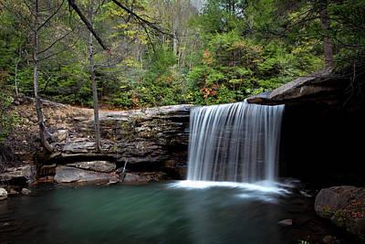 Autumn Shower On Glade Creek Poster