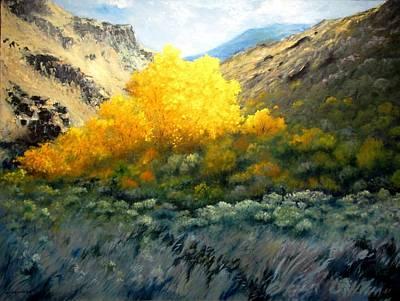 Autumn-southhills Poster