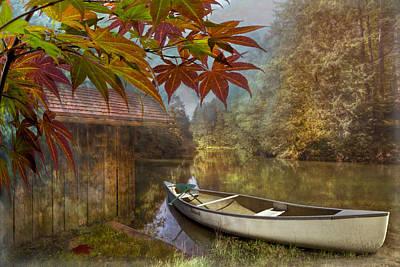 Autumn Souvenirs Poster by Debra and Dave Vanderlaan
