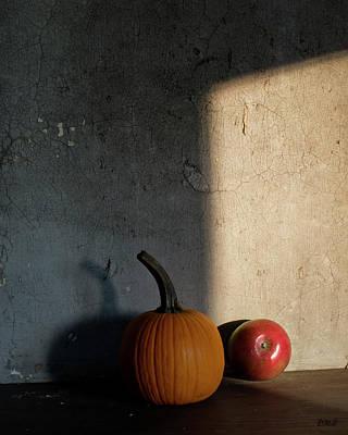 Autumn Still Life I Color Poster by David Gordon