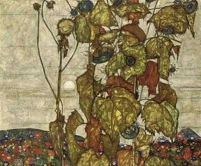Autumn Sun Poster