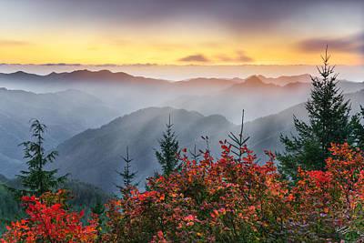 Autumn Tillamook View Poster