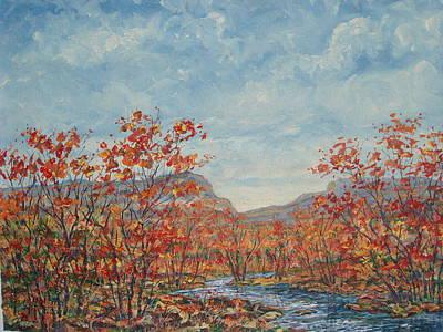 Autumn View. Poster