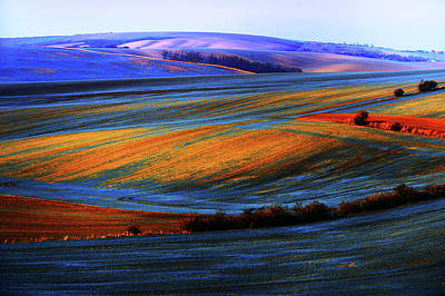 Autumn Winter. Moravian Tuscany Poster