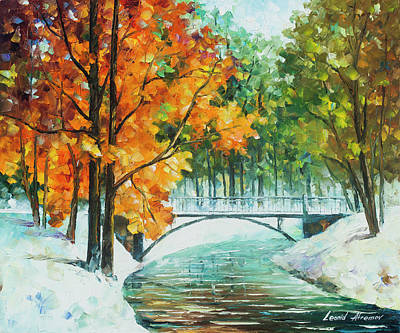 Autumn's End Poster by Leonid Afremov