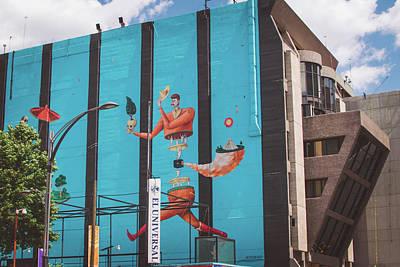 Av Juarez, Cuauhtemoc - Mexico City Poster