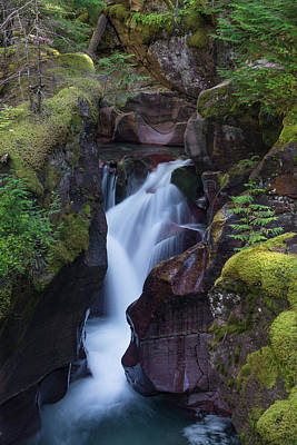 Poster featuring the photograph Avalanche Gorge 3 by Gary Lengyel