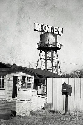 Poster featuring the photograph Avalon Motel by Elena Nosyreva