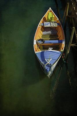 Aveiro Boat Poster by Carlos Caetano