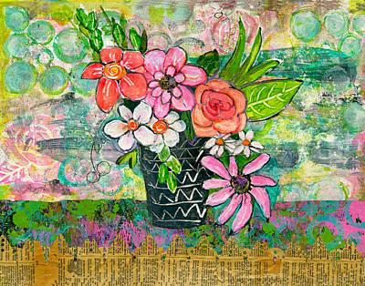 Avery Daisy Flower Poster