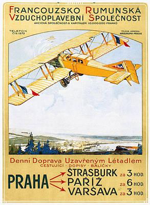 Aviation Poster, 1922 Poster by Granger