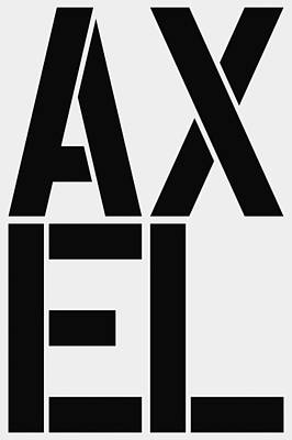 Axel Poster by Three Dots