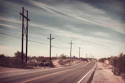 Poster featuring the photograph Az Highway by Joseph Westrupp