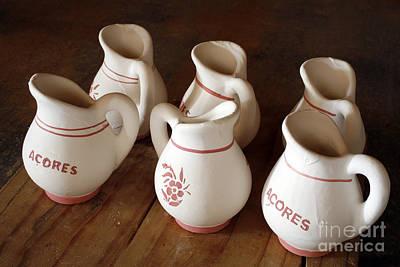 Azorean Pottery Poster