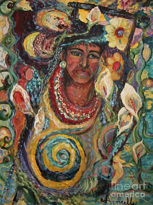 Aztec Garden Poster