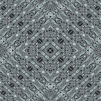Aztec Navajo Pattern Background Poster