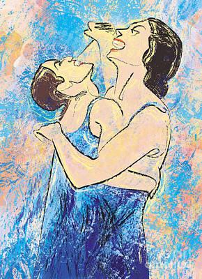 Azul. 15 November, 2010 Poster by Tatiana Chernyavskaya