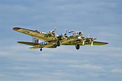 B-17 Aluminum Overcast Poster