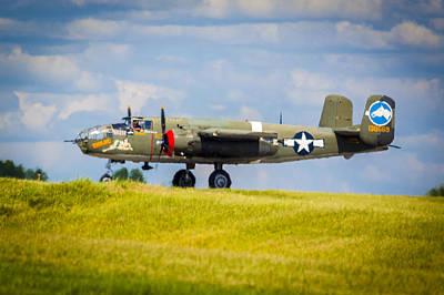B-25 Landing Original Poster