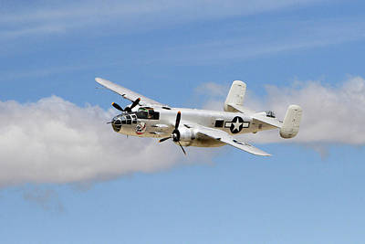 B-25j Poster by Shoal Hollingsworth