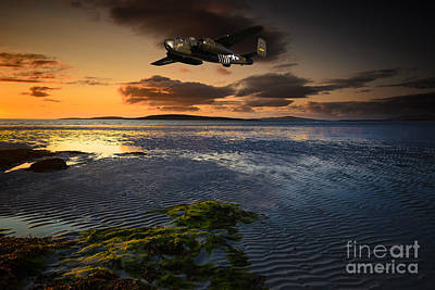 B25 Mitchell Bomber Poster by Nichola Denny