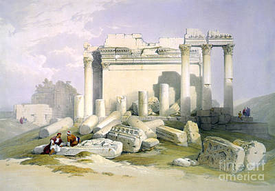 Baalbek, 1839 Poster by Science Source