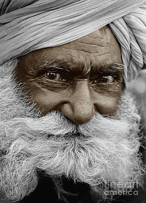 Baba Ji - Pushkar, India Poster by Craig Lovell