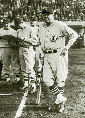 Babe Ruth All Stars Poster by Jon Neidert