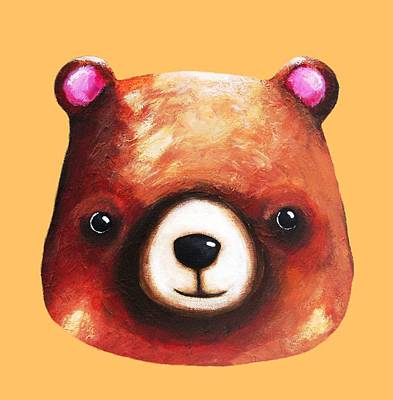 Baby Bear  Poster by Lucia Stewart