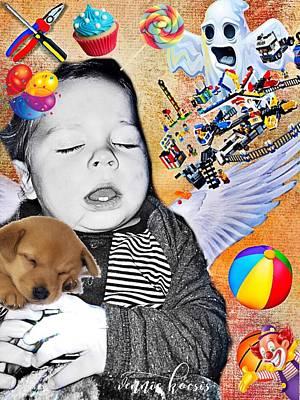 Baby Dreams Poster by Vennie Kocsis