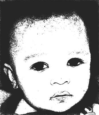 Baby Face 2 Poster by Terry Wallace