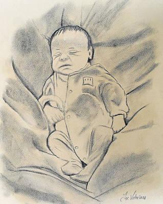 Baby Sleeping Poster