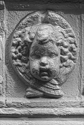 Baby Stone Face Poster by Robert Ullmann