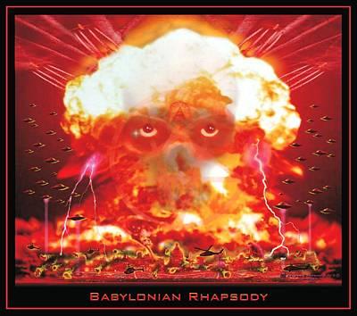 Babylonian Rhapsody Poster by James Jones