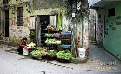 Back Street Veggies Store I Poster