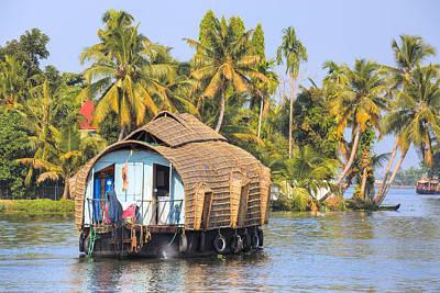 Backwaters Kerala - India Poster