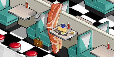 Bacon Detective Poster