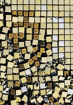 Bad At Scrabble Poster