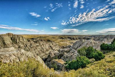 Bad Lands South Dakota.... Poster