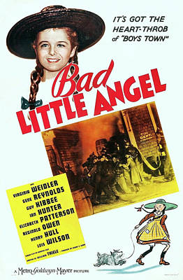 Bad Little Angel 1939 Poster by M G M