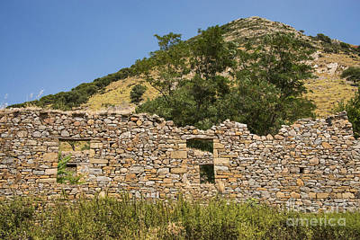 Bademli Village Ruins View 1 Poster