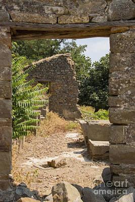 Bademli Village Ruins View 4 Poster