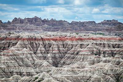 Badlands National Park Vista Poster