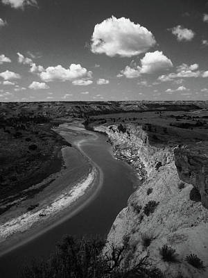 Poster featuring the photograph Badlands, North Dakota by Art Shimamura