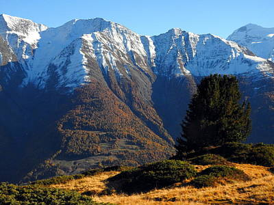 Baettlihorn In Valais, Switzerland Poster