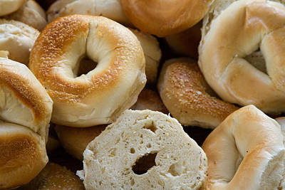 Bagels 1 Poster by Michael Fryd