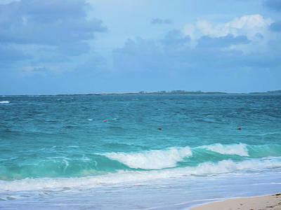 Bahama Waves Poster by Rick Grossman