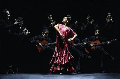 Bailarina Orgullosa Del Flamenco Poster by Richard Young