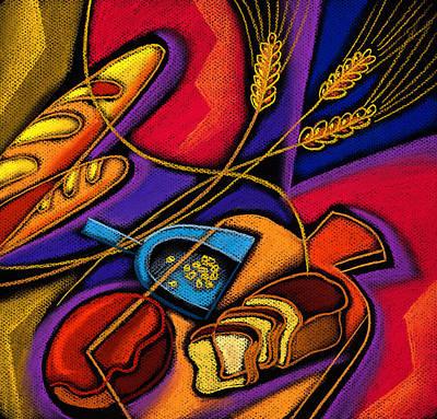 Baked Goods Poster by Leon Zernitsky