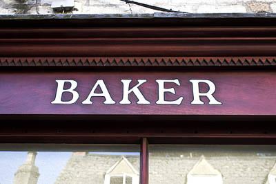 Baker Shop Poster